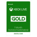XBOX Live Gold 1 Month Membership Card (XBOX360 / XBOX ONE)