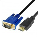 Male to SVGA VGA M Converter A/V Cable 2.0m