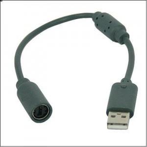 HDE USB Breakaway Cable for Xbox 360 Gaming Controllers (2 pack)