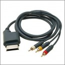 AV RCA Video Composite Cable Cord  for XBOX360 (XBOX360)