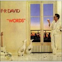 "F.R. David  ""Words"" (LP)"