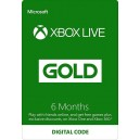 XBOX Live Gold 6 Month Membership Card (XBOX360 / XBOX ONE)
