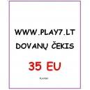 Dovanų Čekis 10 EU