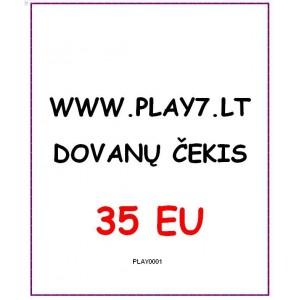 Dovanų Čekis 35 EU