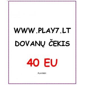 Dovanų Čekis 40 EU