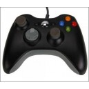 XBOX 360  Wired Controller  Black (XBOX360 / PC Windows)