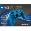 Gioteck VX-3 Wired Controller for PS3 -Blue (PS3)