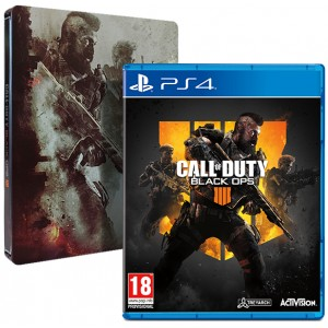 Call of Duty: Black Ops 4 Steelbook Edition (PS4)
