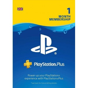 Playstation Plus 1 Month Membership  UK Account (PS3, PS4, PS VITA)