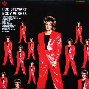"Rod Stewart  ""Body Wishes"" (LP)"