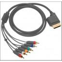 Xbox 360 Original Microsoft Component AV Video Cable Adapter Lead Cord 2.5M (Xbox360)